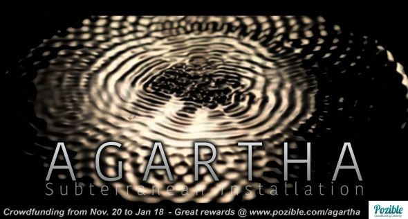 AGARTHA is crowdfunding the last funds needed to make this installation an amazing success !