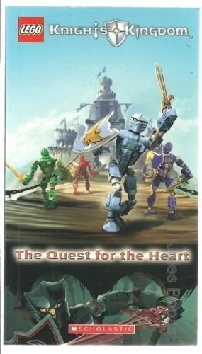 LEGO Knights Kingdom The Quest for the Heart 2005 Scholastic Book Comic 1st Edit