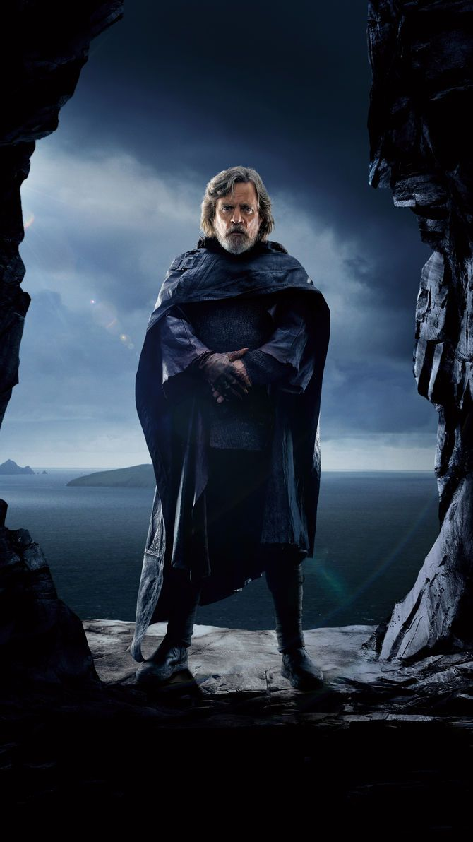 Star Wars The Last Jedi 2017 Phone Wallpaper Moviemania Star Wars Luke Skywalker Star Wars Fans Star Wars Characters