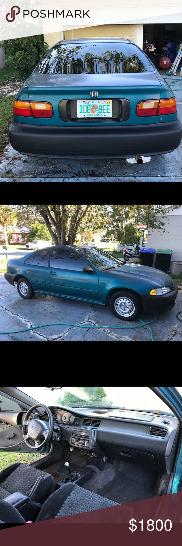 95 honda civic dx 95 honda civic dx , standard transmission , 4cylinder 1.6 liter . Other