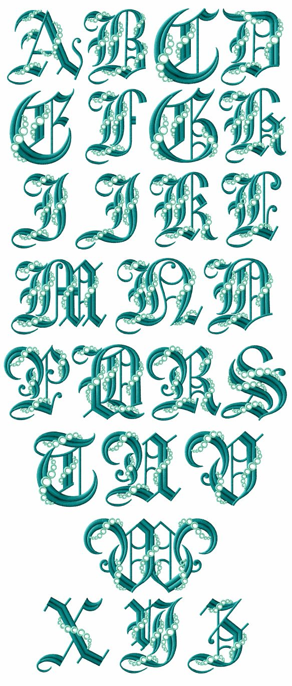 """Fairytale Gothic (Think initial lettering of """"Once upon a time..."""")"""
