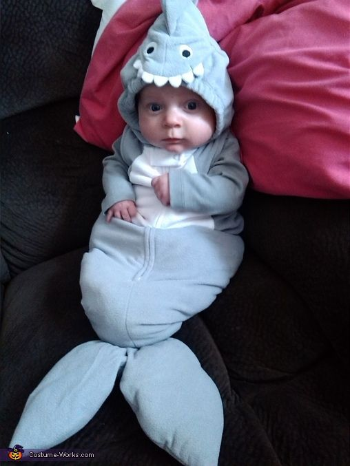 Shark Baby - Halloween Costume Contest via @costume_works