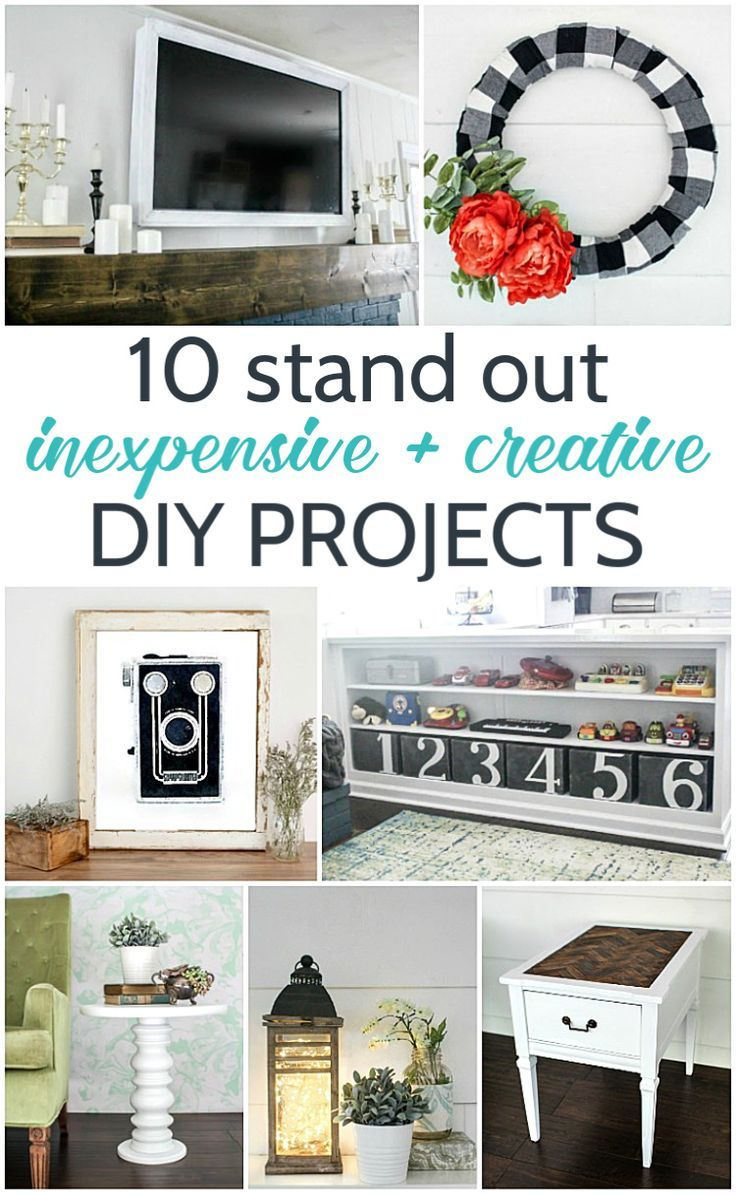 Best Of 2018 10 Creative And Inexpensive Diy Projects Creative