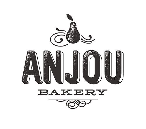 Anjou Bakery / Simon Walker #logo #identity #design
