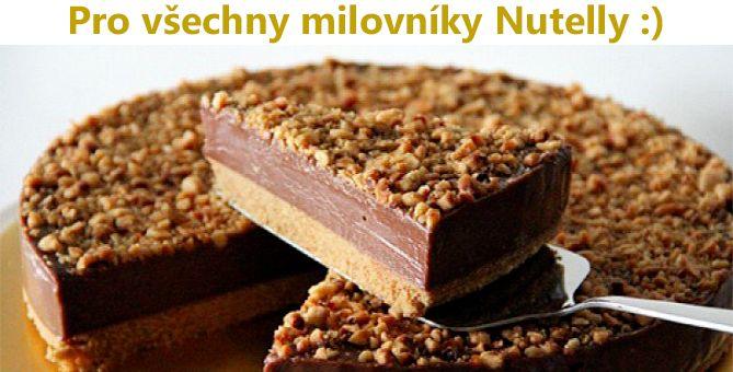 Fantastický NEPEČENÝ tvarohový koláč s Nutellou – zvládne ho každý!