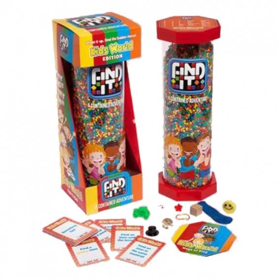 """Game - Find It Kids  #Entropywishlist  #pintowin Always on the lookout for car-friendly toys when the kids start """"Are we there yet?"""".  This toy looks like hours of fun!"""