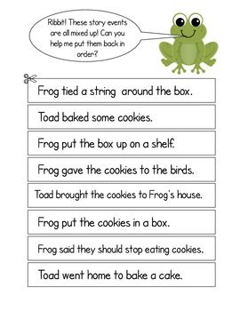Frog-and-Toad-Together-Activities-for-Cookies-969726 Teaching Resources - TeachersPayTeachers.com