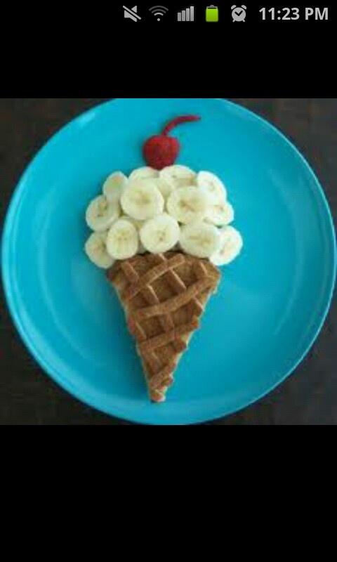 Cute breakfast idea - gelato per colazione?