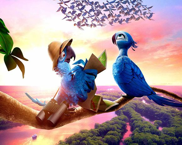 awesome rio2 wallpaper background hd rio2 movie wallpaper Rio 2 Wallpapers HD Rio 2 HD Backgrounds & Rio 2 Character Photos