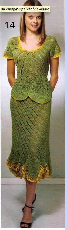 Crochet two piece…….