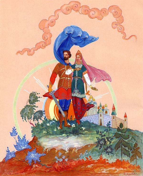 Картинки руслана и людмилы из сказки пушкина