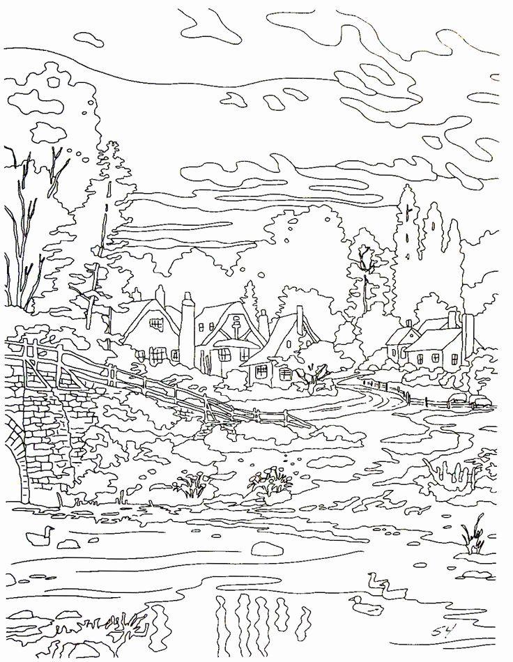 Thomas Kinkade Coloring Book Awesome 33 Best Thomas Kinkade Tribute Images On Pinterest In 2020