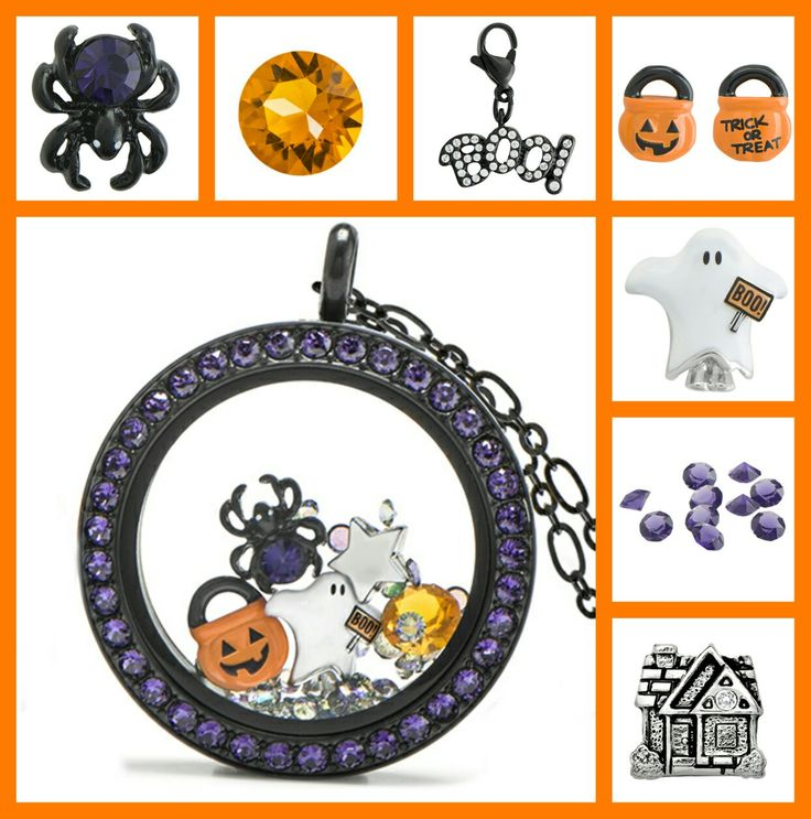 Love the 2016 Origami Owl Halloween charms, boo dangle, swarovski crystals, and Living Locket!!! hollyalockets.origamiowl.com