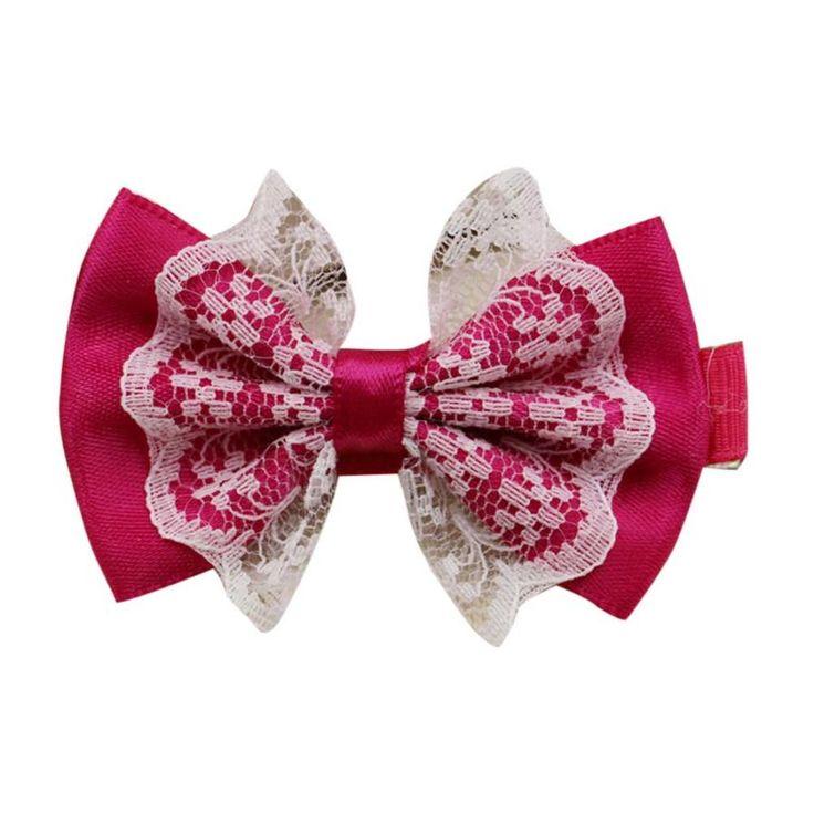 Haaraccessoires Leuke Lace Bloemen Haar Clip Meisje Strik Patroon Hoofddeksels Haaraccessoires Voor Meisjes Horquillas De Pelo