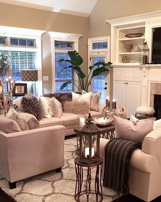 Living Room Luxe By Color Scheme