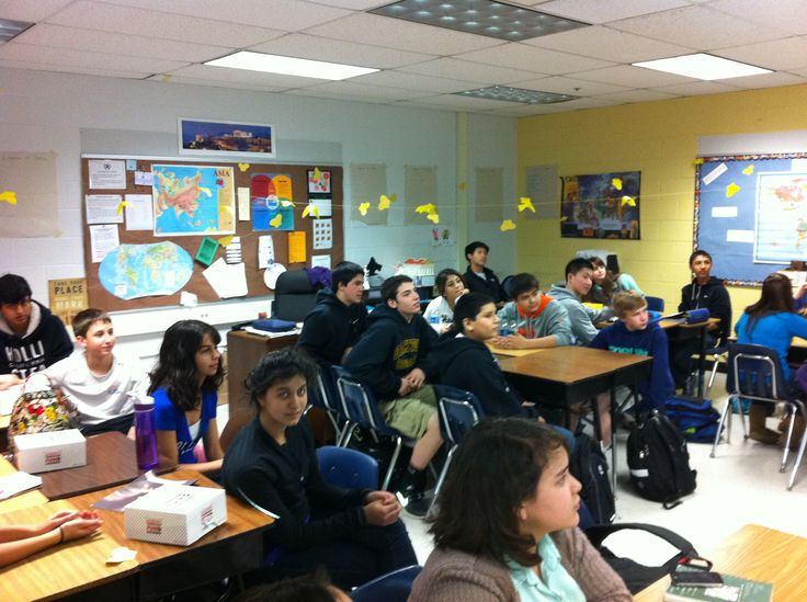 Students paying attention to my class :)   My lesson about ...