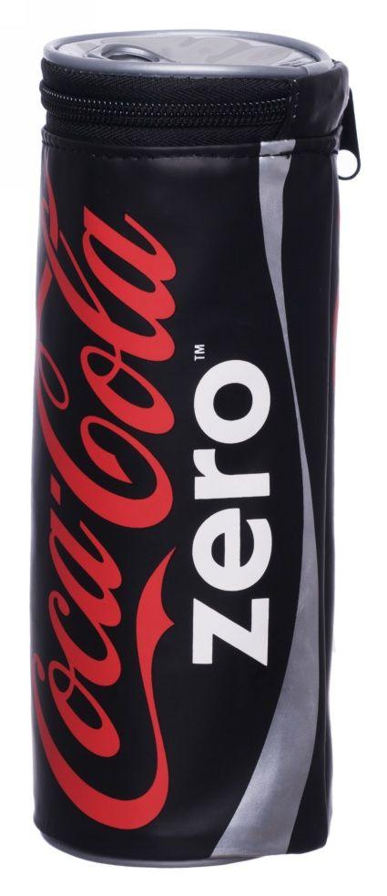 Coca Cola Zero Barrel Pencil Case