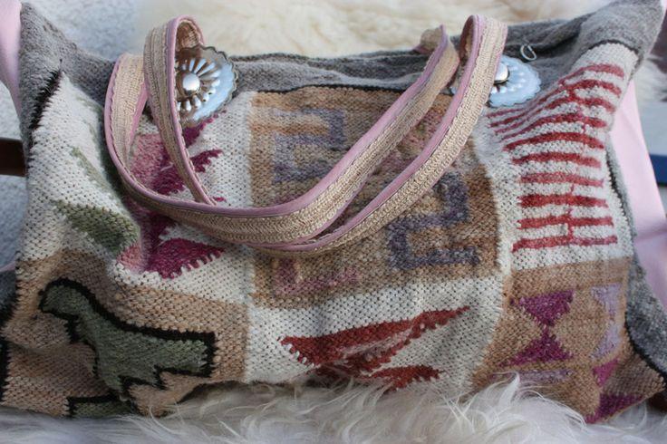Ethno - Tasche - Lederbag - Weekender von The House of Gabriele Mast auf DaWanda.com