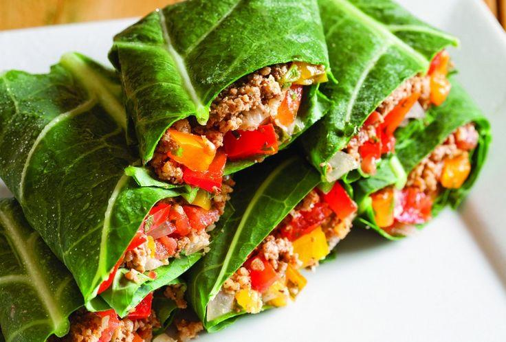 tacos végétarien- noix