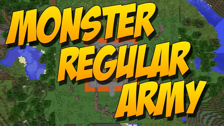 MONSTER REGULAR ARMY: Mod De Invasion De Enemigos - Minecraft Mod 1.7.10