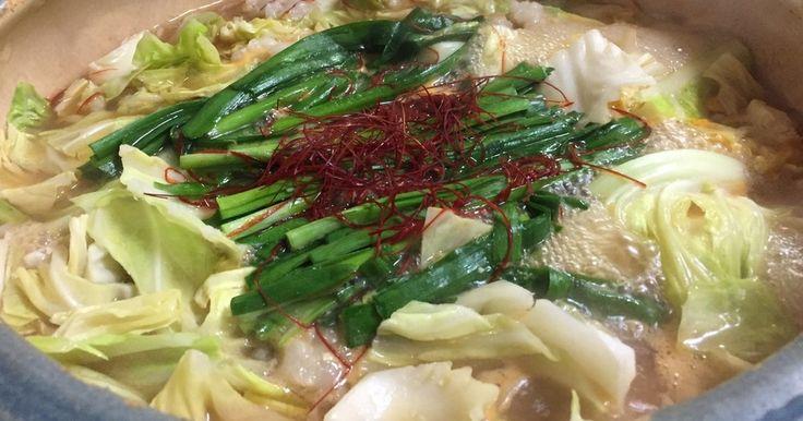 絶品!牛モツ鍋(下処理~ダシまで簡単) by 食の贅沢 【クックパッド】 簡単おいしいみんなのレシピが274万品