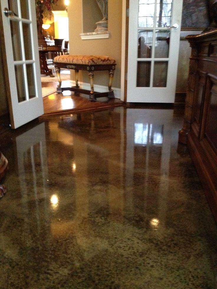 17 best images about concrete floor ideas on pinterest for Interior concrete floors