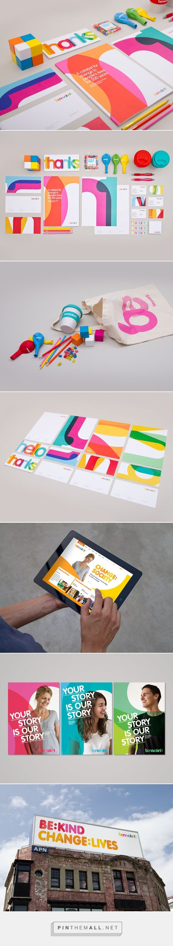 Benevolent Society - Brand Identity by Designworks Sydney... - a grouped images picture