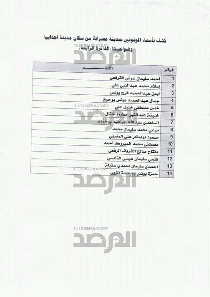 بالأسماء مراسلة من السراج والعقاب للنائب العام حول سجناء جضران وتنظيم القاعدة فى طرابلس ومصراتة Tripoli Personalized Items 10 Things