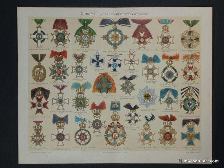 German Medals c.1880 Meyers
