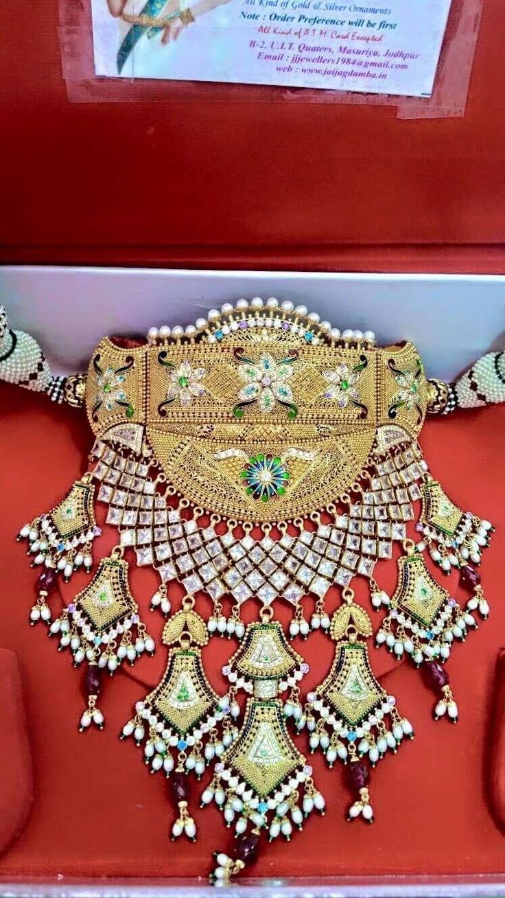 Rajputi jewellery beautiful aad by Kuldeep singh