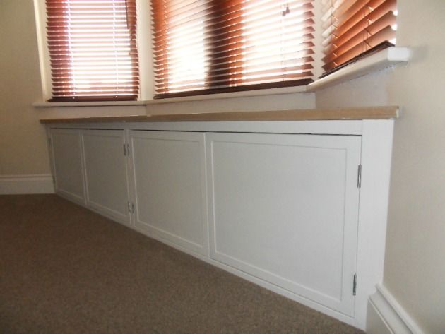 Bay Window Seats With Storage Daniel Adams Carpentry