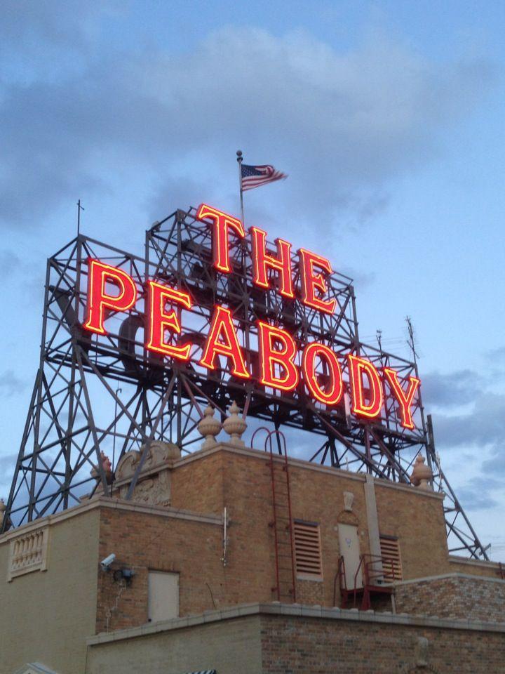 The Peabody Hotel in Memphis, TN