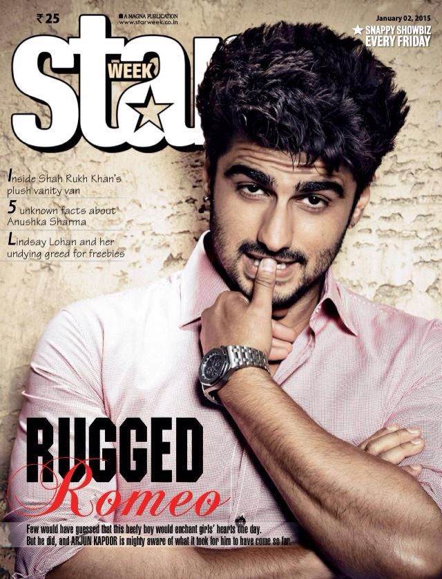 Arjun Kapoor, Star Week, Magazine Scan, Photoshoot