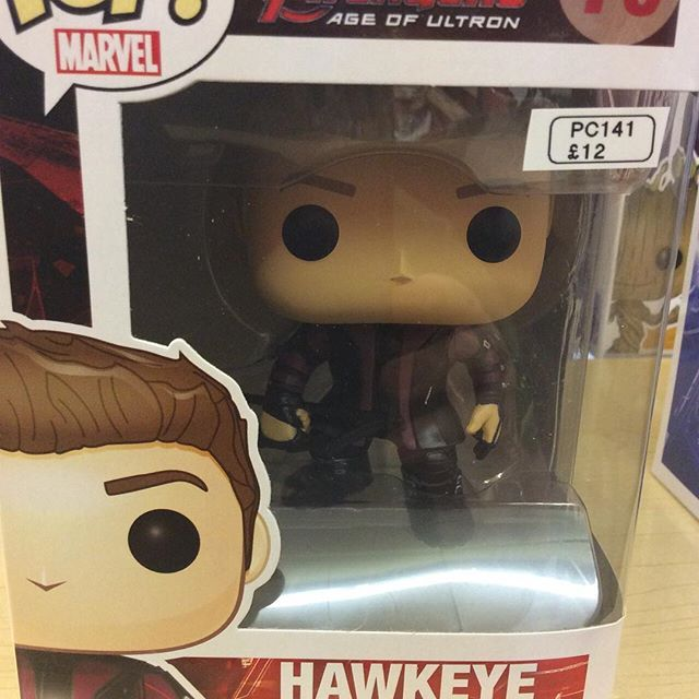 """""""Age of Ultron Avengers Hawkeye funko pop #avengers #ageofultron #marvel #hulk #funko pop #hawkeye Like this? I'm selling it on @depopmarket. Search for me: diversions on #depop ✌ """" Photo taken by @diversionsgifts.co.uk on Instagram, pinned via the InstaPin iOS App! http://www.instapinapp.com (07/17/2015)"""