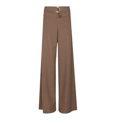 Highwaist A line trousers