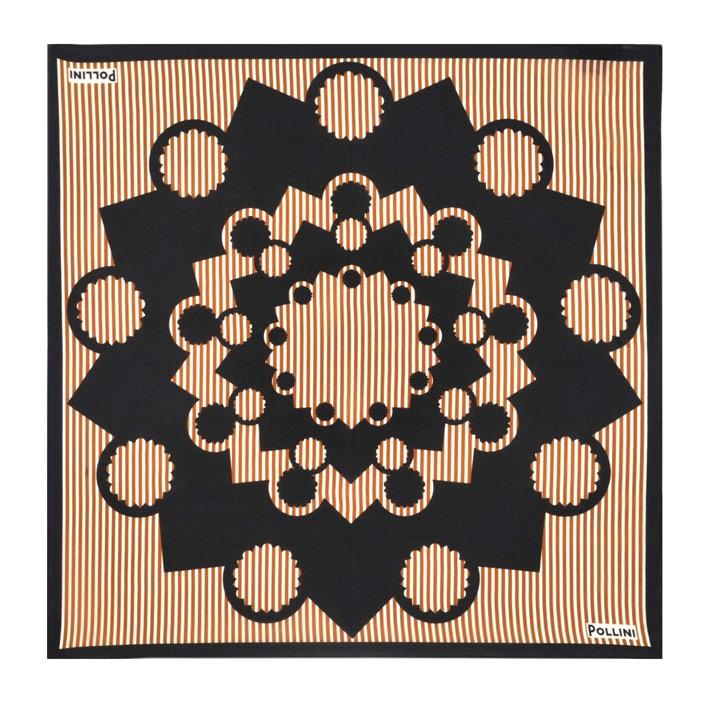 Silk Square Scarf - byzantine autumn by VIDA VIDA qESUwgb