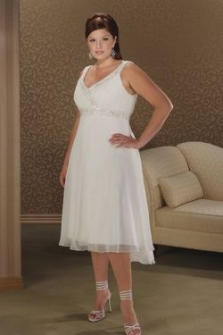 Dyal Casual Beach Wedding Dresses Plus
