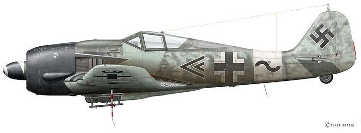 Focke Wulf Fw 190 A-8/R2, Wilhelm Moritz