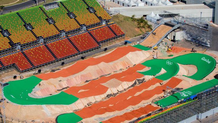 the Rio 2016 venues-Olympic BMX Centre