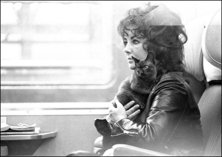 Elizabeth Taylor, Paris, 1973