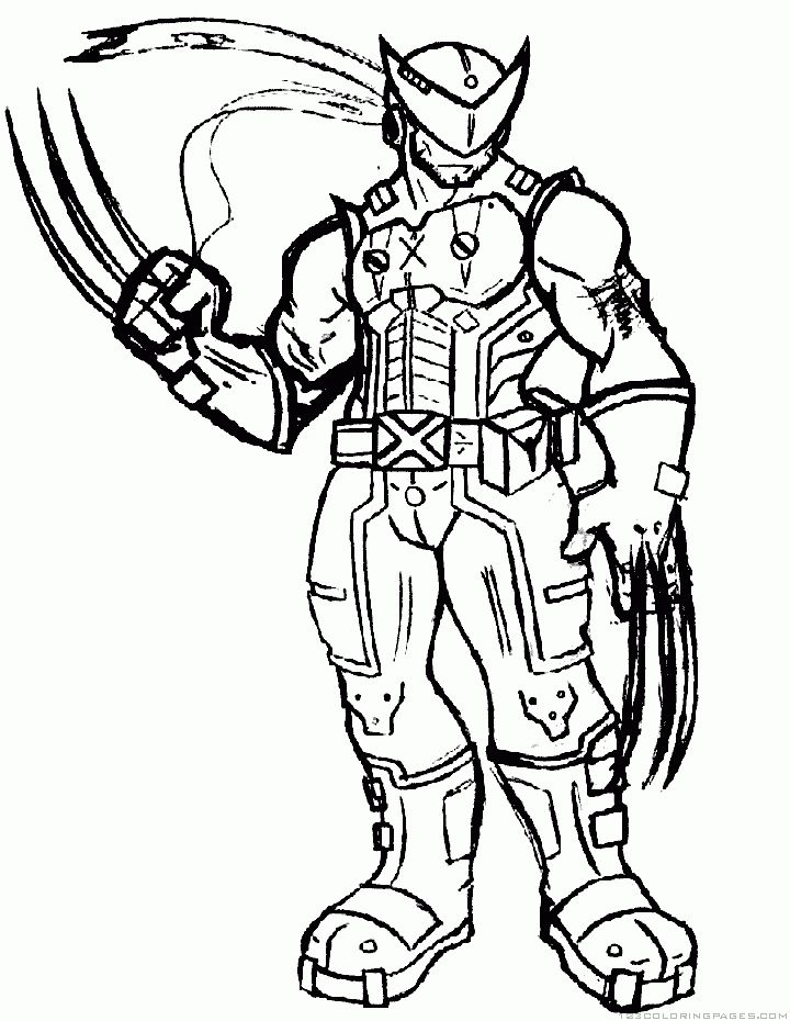 X-Men Coloring Pages: Here is our compilation of ten X-Men ...