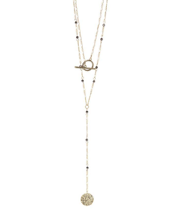 This Jamierocks Goldtone Multistrand Coin Drop Necklace by Jamierocks is perfect! #zulilyfinds