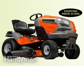 Riding Lawn Mower Reviews LAWN TRACTOR FRONT ENGINE IMPAIRS VISIBILITY. NO MAJOR ATTACHMENTS STARTING PRICE $1500
