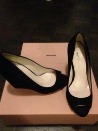 Available @ TrendTrunk.com Miu miu Heels. By Miu miu. Only $258.00!