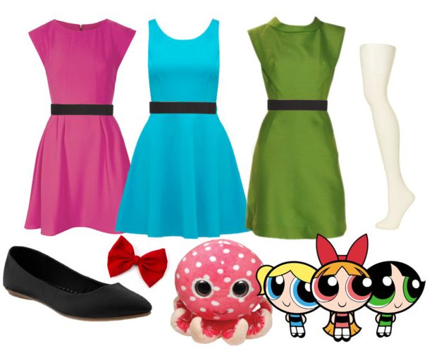 Powerpuff Girls Halloween Costume