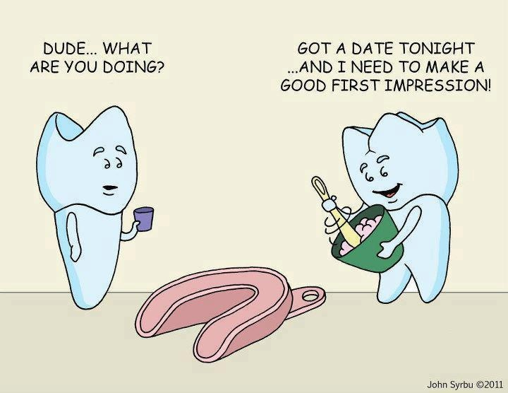 This is one of my favorite dental jokes! From your # 1 Licensed Dental Assistant! Gina M. Lynaugh, LDA