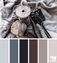 Palette colori 2: Colori freddi ma piacevoli. Sono interessanti per creare un manifesto tendente al monocromatico.