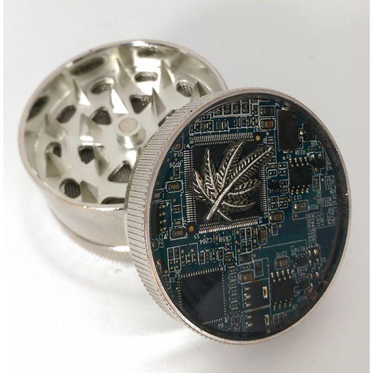 Cyberpunk Mary  Grinder http://www.db-steampunk.com/db%20steampunk-jewelry/steampunk-herb-spice-weed-grinders/steampunk-herb-grinder-cyberpunk-mary
