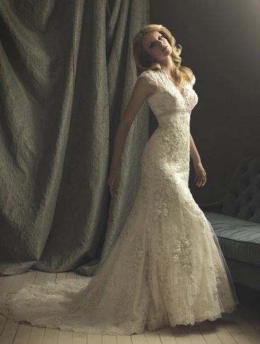 Yes I am old fashioned ... lace, elegance and all