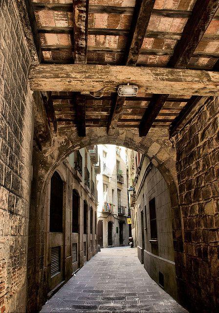 Barrio de la Ribera. Barcelona. Spain.